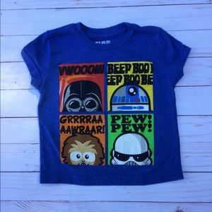 Star Wars tee 5 for $25 plus 10% off